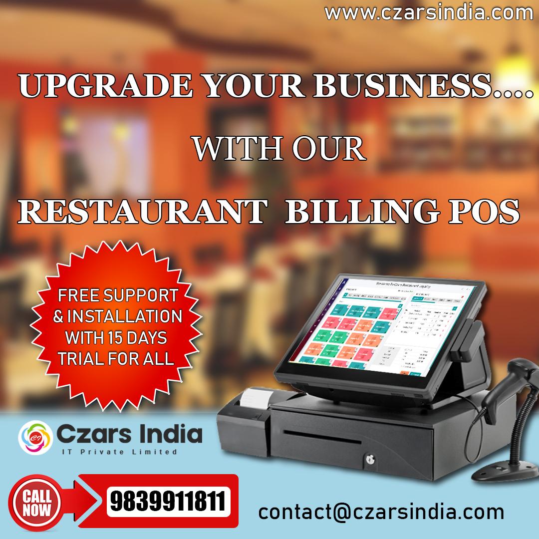 Best Restaurant Pos System By Czars India It Pvt Ltd